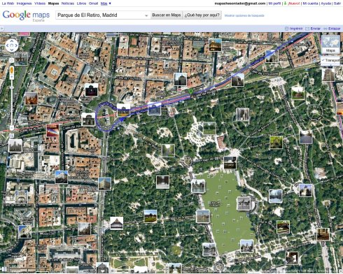 captura de pantalla de Google Maps